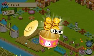 星の島のにゃんこ 猫缶にはたまに1000枚単位のコインが入っている