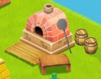 星の島のにゃんこ 石窯
