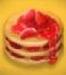 星の島のにゃんこ ストロベリーパンケーキ